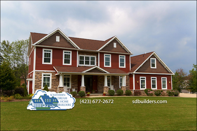 Southern dream home builders building modular homes in for East tennessee home builders